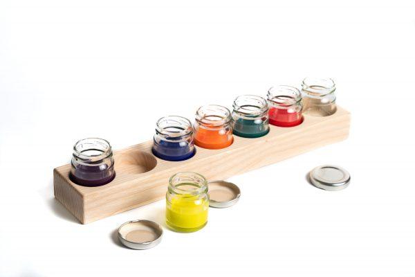 Gläschenhalter Farbe